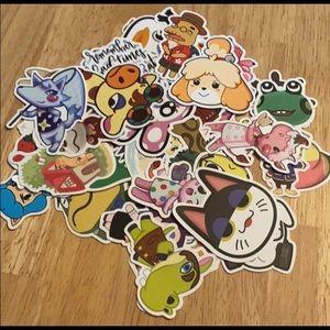50 Animal Crossing Stickers
